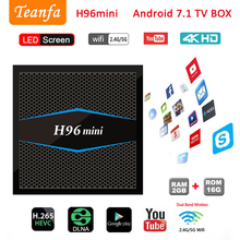 CAIXA de TV 3 4 k iptv Inteligente android tv Ultra HD 2g 16g Android 7.1 Filme WIFI Google elenco do Netflix S905W BT 4.1 Set-top Box tv Amlogic
