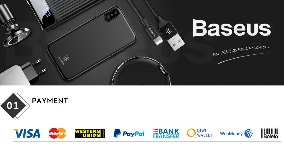 HTB1ybfwGQOWBuNjSsppq6xPgpXan - Baseus Qi Car Wireless Charger For iPhone Xs Max XR X Samsung Intelligent Infrared Sensor Fast Wirless Charging Car Phone Holder