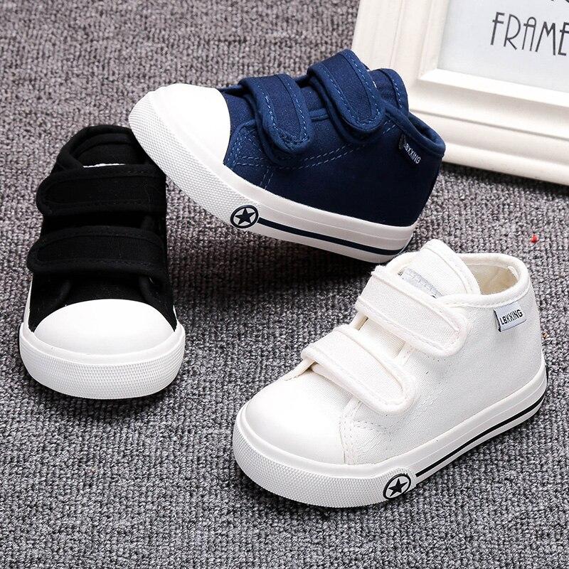 Buty dziecięce białe płótno 4 kolory dla dzieci Dziewczynki i - Buty dziecięce - Zdjęcie 5