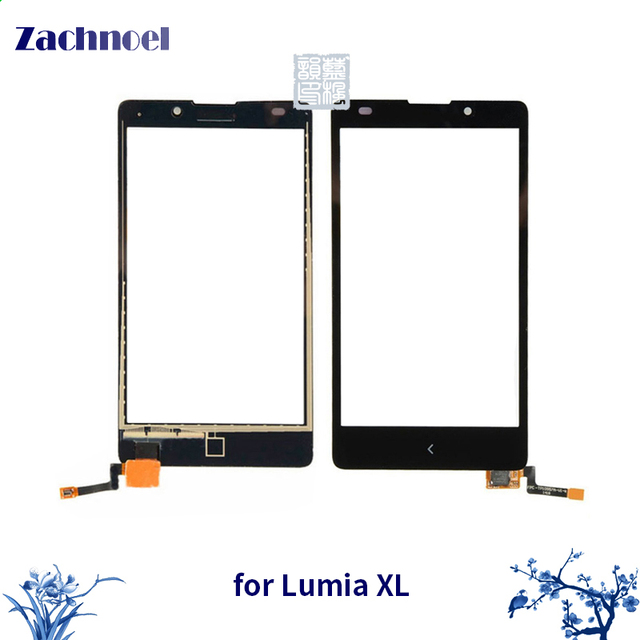 10PCS 5.0'' Touch Panel for Nokia XL Dual Sim RM-1030 RM-1042 Touch Screen Digitizer Sensor Front Glass Lens Panel Touchscreen