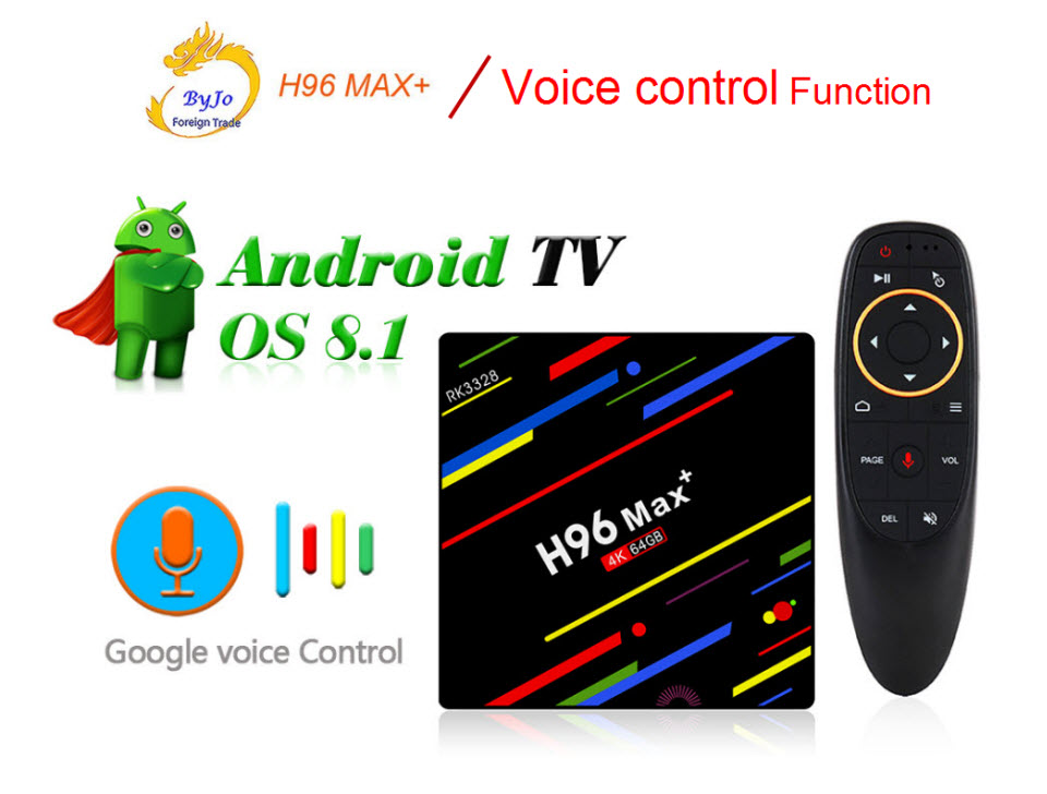 H96 Max+ Android TV Box 4G 32G Or 64G Or voice control RK3328 4K box 2.4G 5G WiFi Android 8.1 box Set Top Box H96 MAX Plus h96 max android tv box 4g 32g or 64g or voice control rk3328 4k box 2 4g 5g wifi android 8 1 box set top box h96 max plus