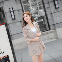 Karxige 2018 Korean Version Summer Thin Lace Waist Shorts Fashion Girl Strip Short Pant Office Lady Suit