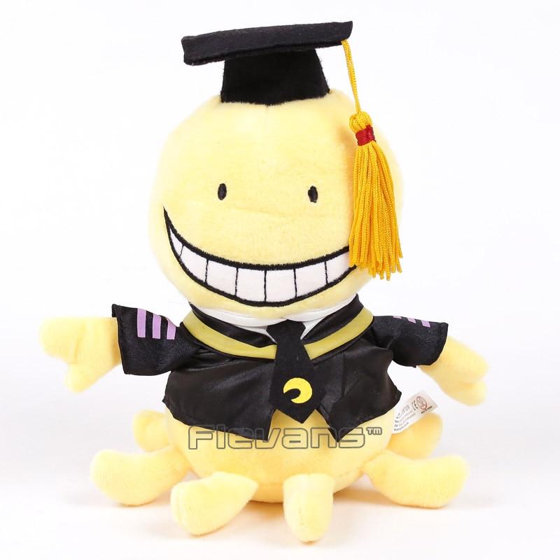 Anime Cartoon Assassination Classroom Korosensei Plush Toy Soft Stuffed Doll 19cm/29cmAnime Cartoon Assassination Classroom Korosensei Plush Toy Soft Stuffed Doll 19cm/29cm