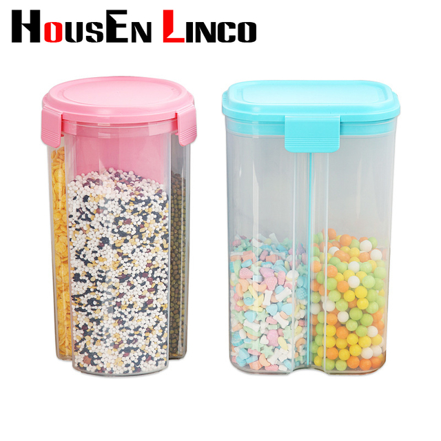 Kitchen Food Storage Container Snack Crains Plastic Sorting Food