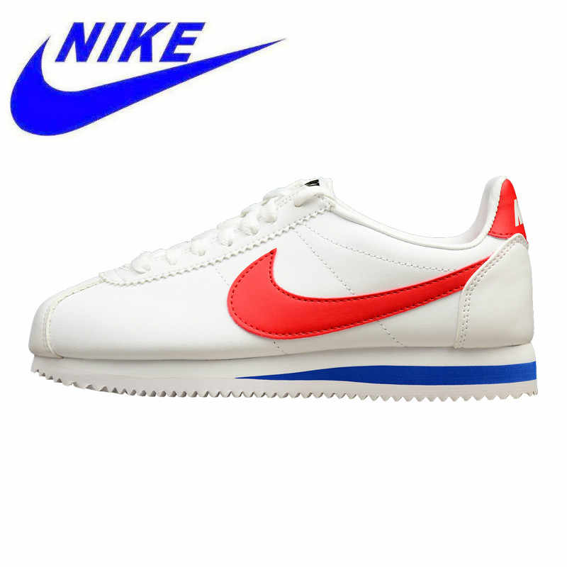 b250e39c661eed Wear-resistant Breathable NIKE CLASSIC CORTEZ LEATHER Men s and Women s  Shoes Running Shoes