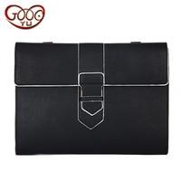 Korean Fashion Handbags Simple Casual Clutch Bag Quality PU Leather Bag Postal Messenger Bag