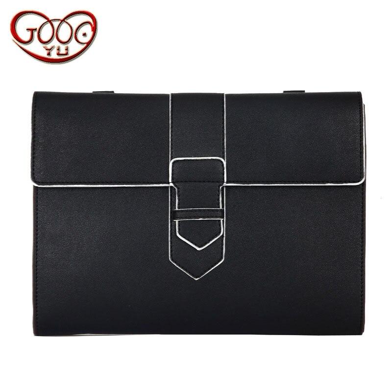 Koreaanse Mode Handtassen Eenvoudige Casual Clutch Tas Kwaliteit Pu Lederen Tas Postal Messenger Bag