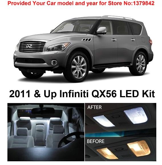 Infiniti Ex35 2011: Free Shipping 9Pcs/Lot Car Styling Xenon White Package Kit