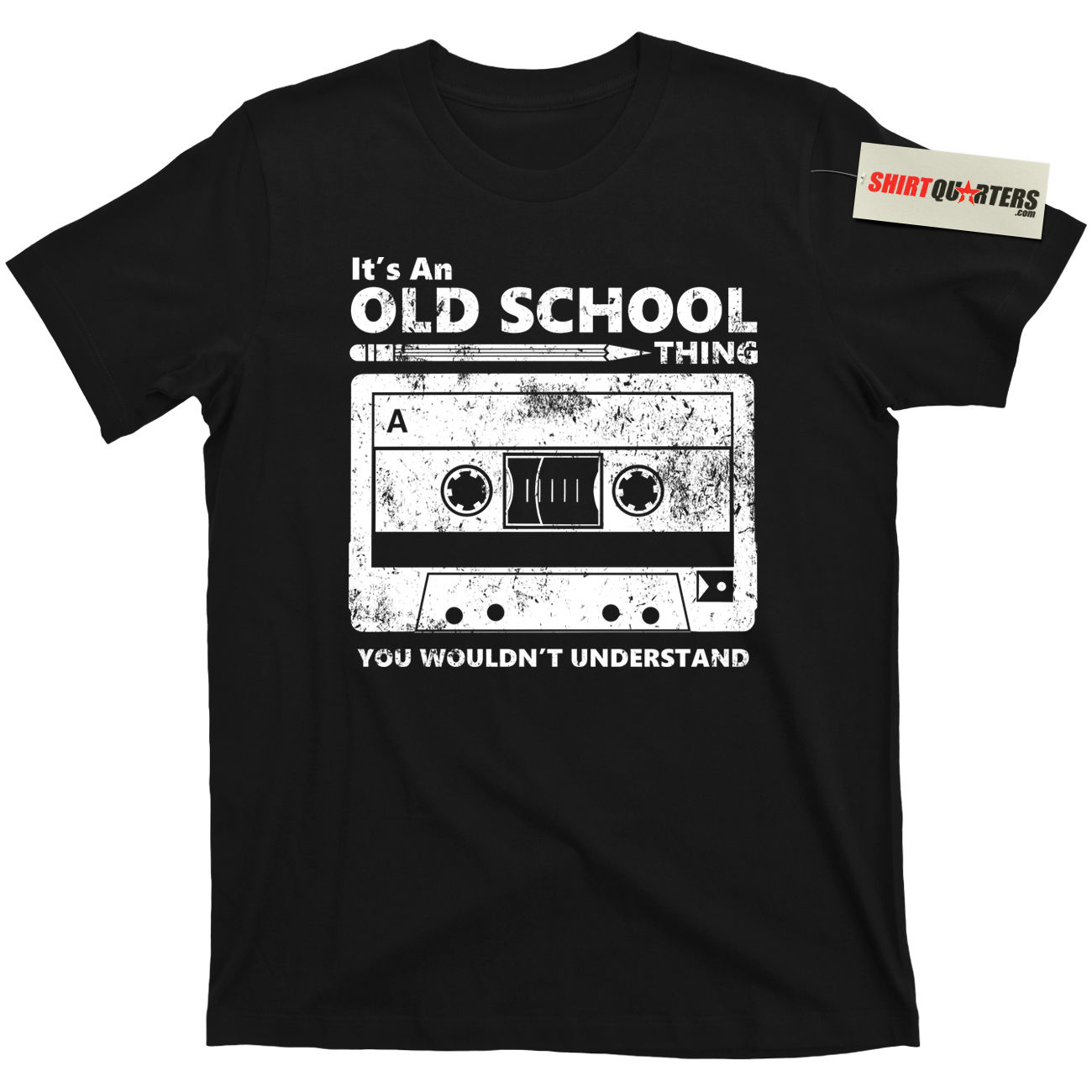 2019 Summer Fashion Hot Cassette Tape Pencil Boombox Headphones Mixtape Old School DJ Deejay Tee   T     Shirt   Tee   Shirt