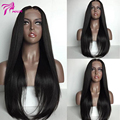 180% Density Lace Front Human Hair Wigs Peruvian Virgin Hair Front Lace Wigs Straight Lace Human Hair Wigs For Black Women