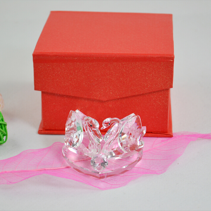 Outlet ! Hi Q Crystal Swan Lover Wedding Favors And Gifts Wedding ...