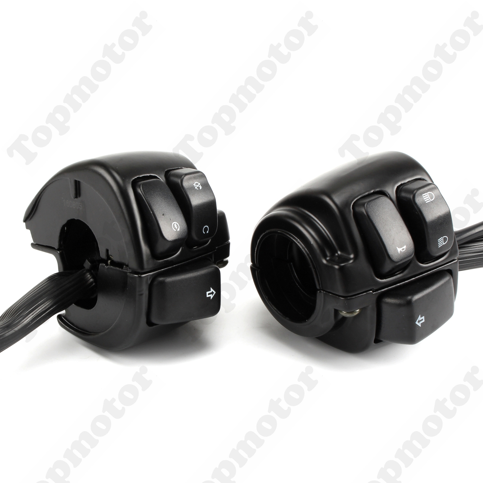 UNDEFINED Black 1 Motorbike Handlebar Switches Control Kit +Wiring Harness For Harley Sportster 883 XL Touring Cruise Control mtsooning timing cover and 1 derby cover for harley davidson xlh 883 sportster 1986 2004 xl 883 sportster custom 1998 2008 883l