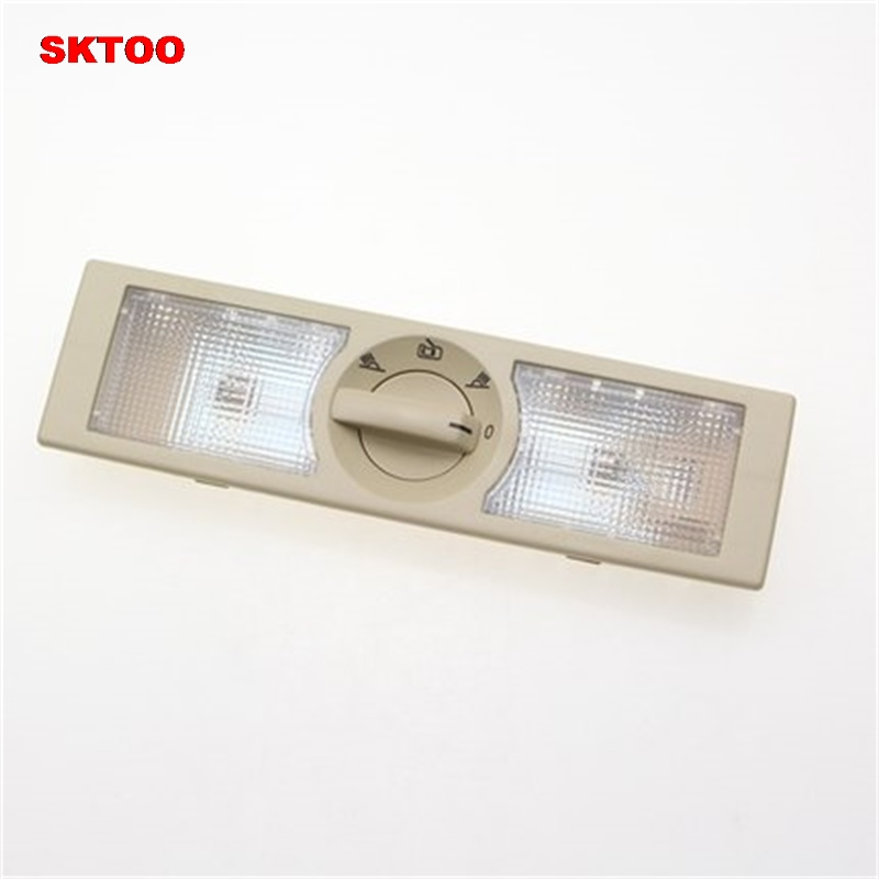 SKTOO Car Lights REAR Interior Dome Light Reading Lamp LIGHTS FOR VW POLO TOURAN SHARAN JETTA SKODA RAPID SEAT ALTEA 6Q0947291A in Signal Lamp from Automobiles Motorcycles