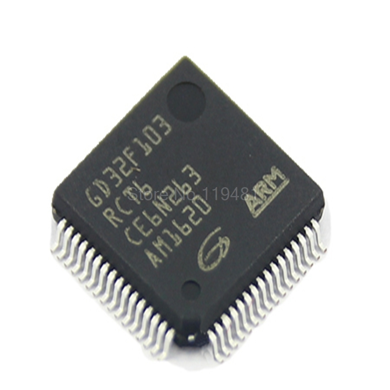 GD32F103RCT6 Original authentic patch GD32F103RCT6 LQFP 64 32 bit microcontroller chip