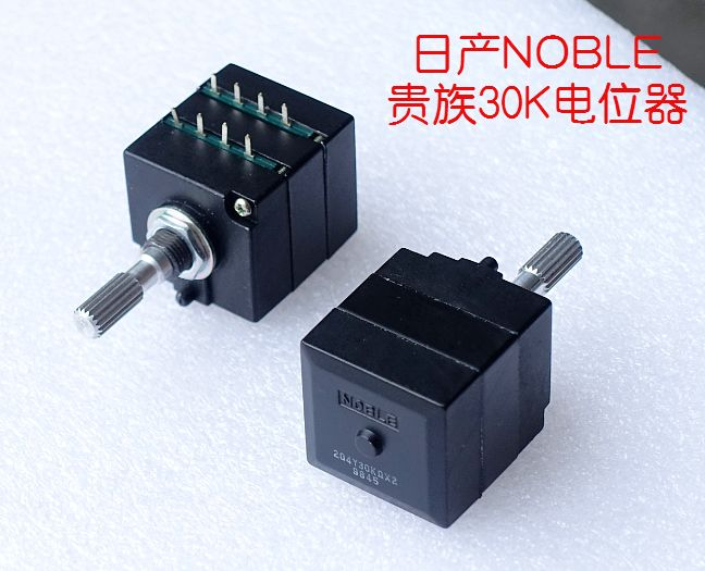 2018 Japan original NOBLE aristocratic high precision dual volume potentiometer RK27 typ ...