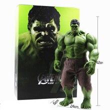 Chaude Avengers Incredible Hulk Iron Man Hulk Buster L'âge De Ultron Hulkbuster 42 CM PVC Jouets Action Figure Hulk Smash zy059