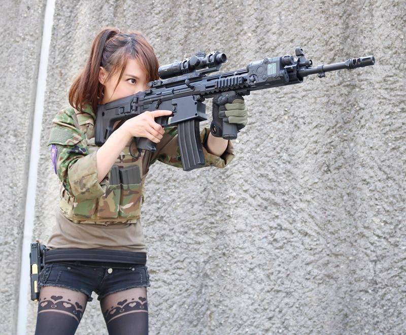 arma arma wapens waffen ir wapens rifle lanterna
