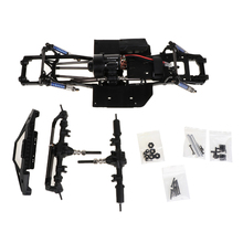 New 313mm 12.3inch Wheelbase Assembled Frame Chassis for 1/10 RC Crawler Car SCX10 II 90046 90047