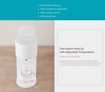 Xiaomi Viomi 4L Inteligentny Natychmiastowy Dozownik Ciepłej Wody Jakości Wody, Indes Mleka Dla Niemowląt Partnera Podgrzewacz Wody Pitnej Czajnik Kontrola Aplikacji