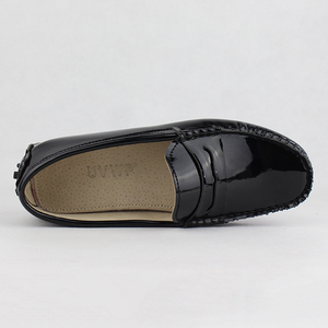 Image 3 - New Design Women Flat Shoes Pu Leather Women Flats Driving Shoes Comfortable Soft Moccasins Fashion Casual Leather Shoes