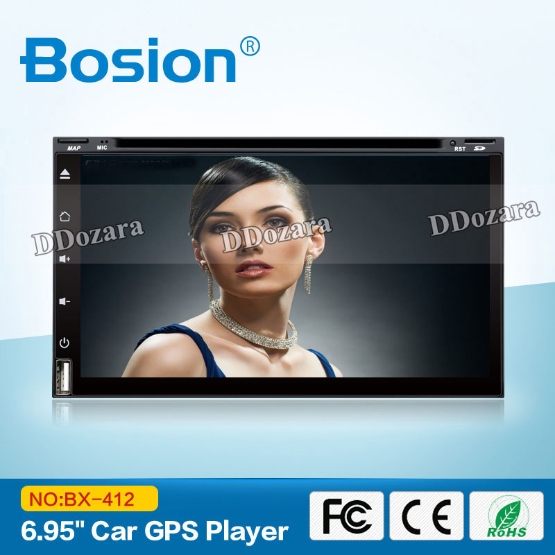 imágenes para Quad Core 800*480 2 Din Android 6.0 Fit NISSAN QASHQAI Tiida Audio Car Stereo Radio GPS TV 3G WiFi dvd automotivo Universal DDR3
