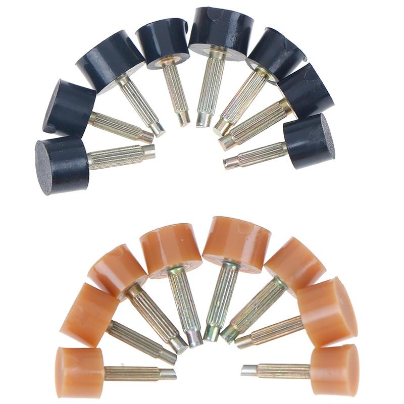 10Pcs=5Pairs Heel Repair Tips Pins Shoes Tips Taps Dowel Lifts Replacement Shoe Repair Heel Stoppers Protect 2Colors