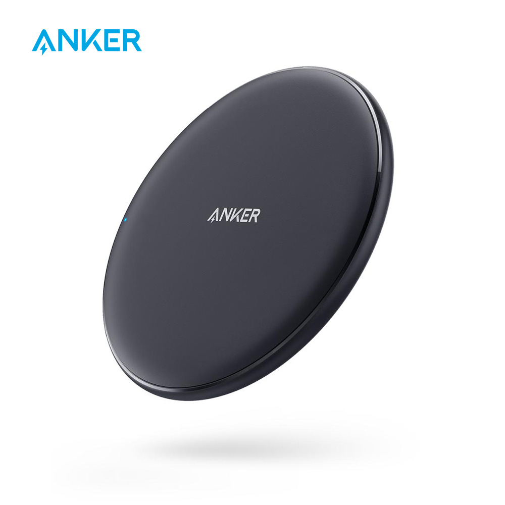 Anker 10W Wireless Charger Qi-Certified Wireless Charging Pad for iPhone Xs Max/XR/XS/X/8/8 Plus Galaxy S9/S9+/S8/S8+/Note 9 etc(China)