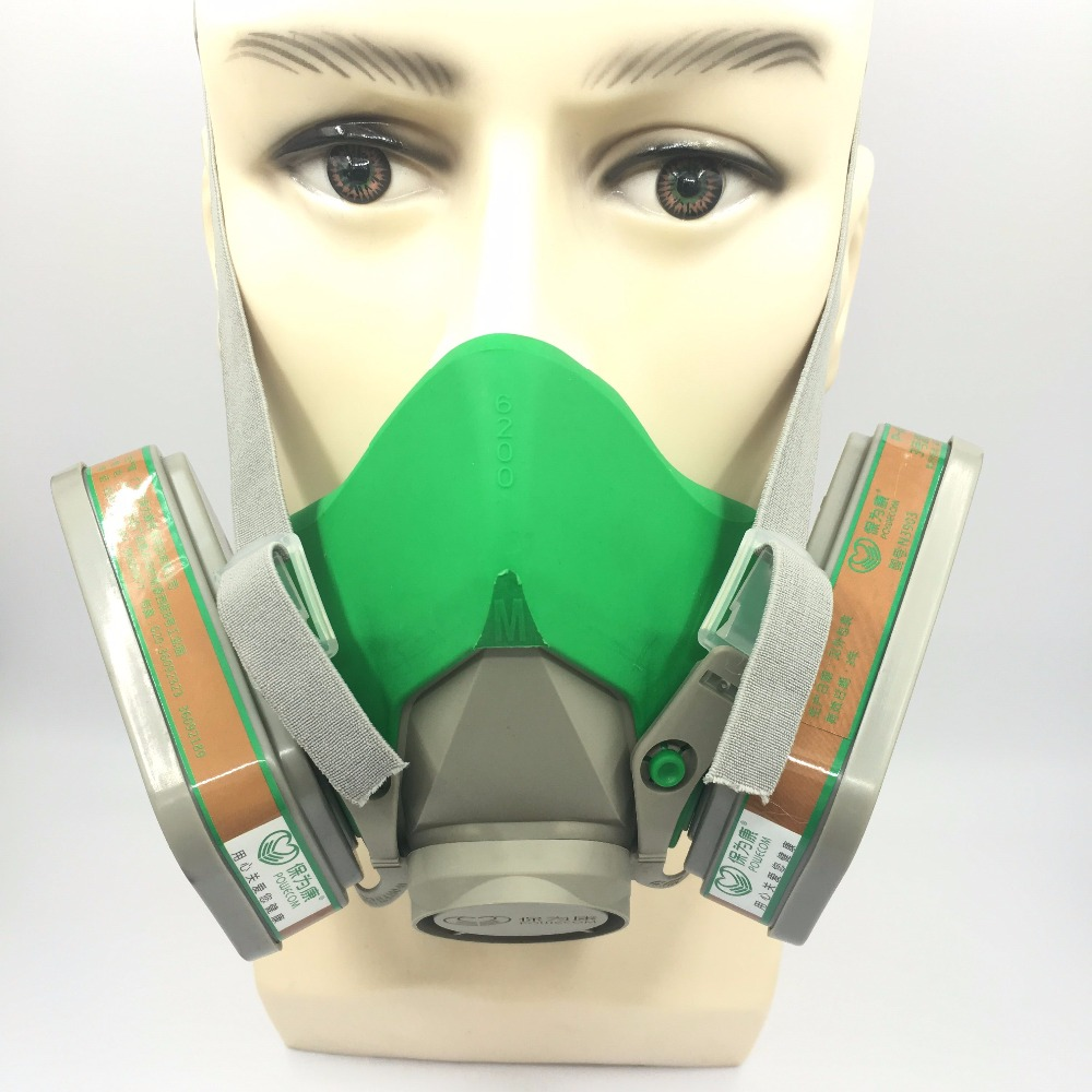 Free Shipping New Gas Safety Protection Mask Special Dust-Proof Masks Spraying Formaldehyde Chemical Carbon Protective Needed купить