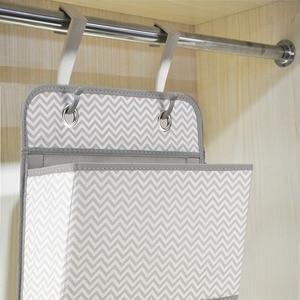 Image 5 - High Quality 4 Pockets Door Back Wall Bedside Cabinet Wardrobe Hanging Bag Storage Organizer for Sundries Underwear Toys