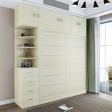 4285-5A3 простая и современная домашняя сборная панель деревянный шкаф спальня мебель 2 двери деревянная панель шкаф для одежды 180 см