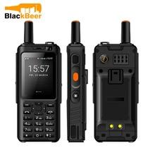 UNIWA F40 Zello Walkie Talkie 4G cep telefonu IP65 su geçirmez güçlendirilmiş akıllı telefon MTK6737M dört çekirdekli Android özellik telefon