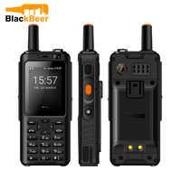 UNIWA F40 Zello Walkie Talkie 4G teléfono móvil IP65 impermeable robusto Smartphone MTK6737M Quad Core Android característica teléfono