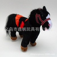 Robot Horse Electric Horse Music Plush Pony Animal Pet Toy Walk Twist ass Whinny Electronic Toys For Children Birthday Gifts