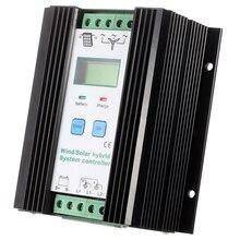 Vent et Solaire Hybride Contrôleur PWM (600 W Vent + 400 W Solaire) 12 V/24 V automatique