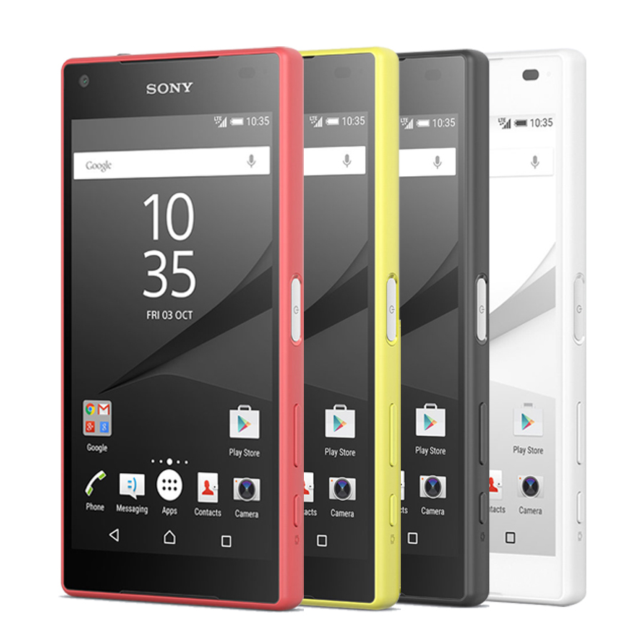 "Original Sony Xperia Z5 Compact E5823 4G LTE Mobole Phone 4.6"" 2GB RAM 32GB ROM Octa-Core Android FingerPrint z5 mini CellPhone(China)"