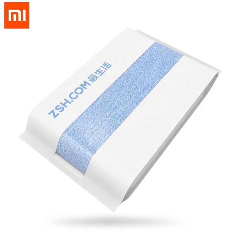 Original Xiaomi ZSH Bath Towel 100 Cotton Towel 580g Antibacterial None irritative 1 6S Strong Water