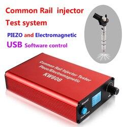 Акция на 2019! Kw608 Многофункциональный дизельный инжектор Common Rail тестер пьезо инжектор тестер Usb инжектор тестер