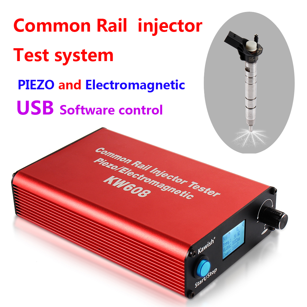 цены на 2018 Promotion New Arrival! Kw608 Multifunction Diesel Common Rail Injector Tester Piezo Injector Tester Usb Injector Tester  в интернет-магазинах
