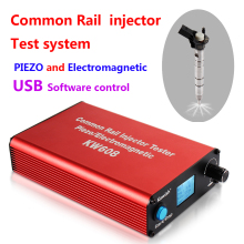 цена на New arrival! KW608 multifunction diesel common rail injector tester USB Injector tester software diesel  Injector driver tester