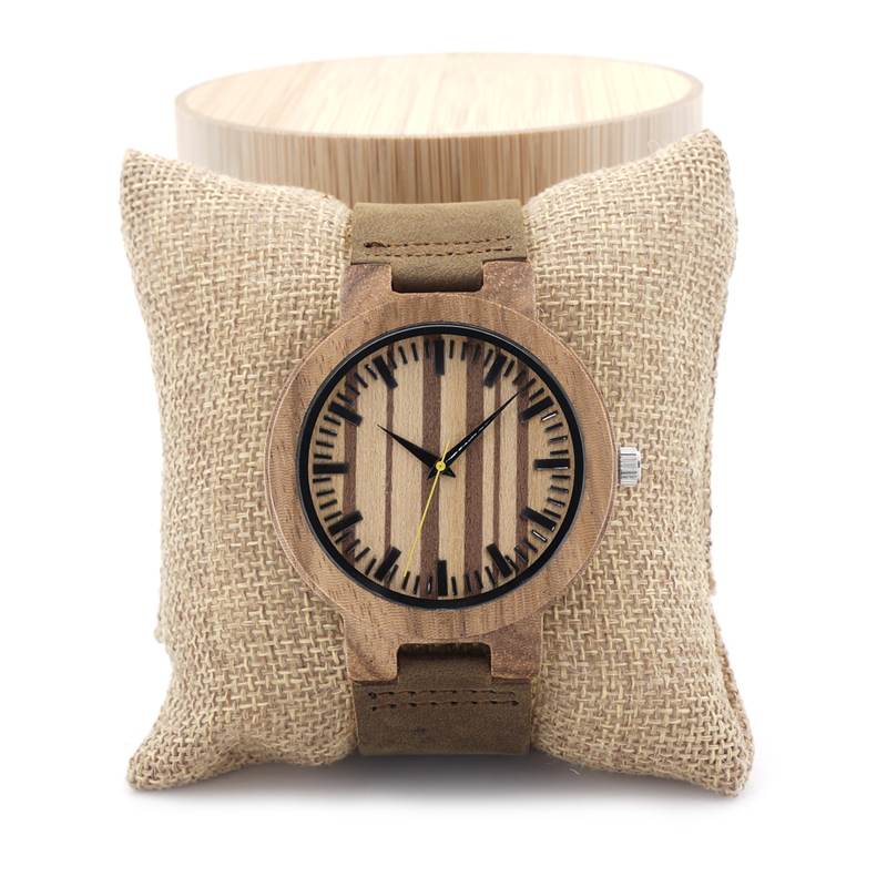BOBO BIRD C21 Zebra Wood Watch Men Brand Designer Luxury Leather Band Wooden Dial Face Quartz Watches Women in Gift Box bobo bird luxury bamboo wood men watch with engrave flower bamboo band quartz casual women watch full wooden watch in gift box