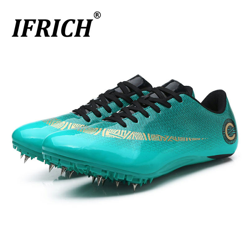 Women's Men's Track & Field Sneaker Spikes Track Shoes Athletics Racing Distance Sprint Running High Jump Shoes For Boys Girls