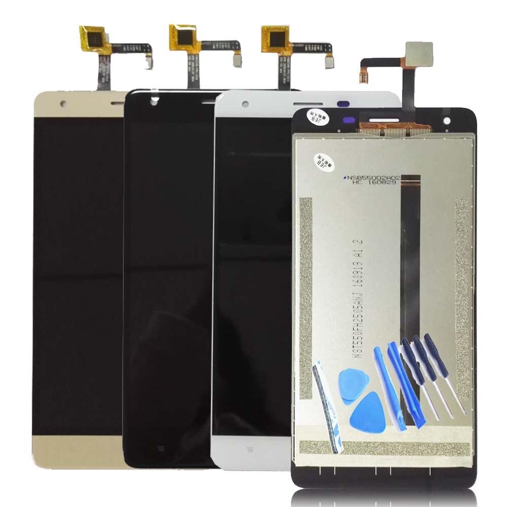 WEICHENG 100% Test de Bonne Qualité Pour 5.5 pouces Oukitel K6000 Pro LCD Affichage et Écran Tactile Digitizer Assemblée + Livraison outils