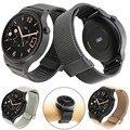 Feitong new luxo malha de aço inoxidável faixa de relógio de substituição para huawei watch 18mm frete grátis