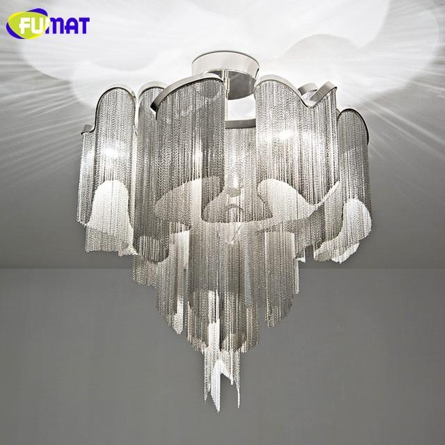 In Kette 35fumat Deckenleuchten Wohnzimmer Deckenleuchte Hotel Us610 Luxus Aluminium Esszimmer Quasten Moderne Fumat Lampe Italien D9IWEH2