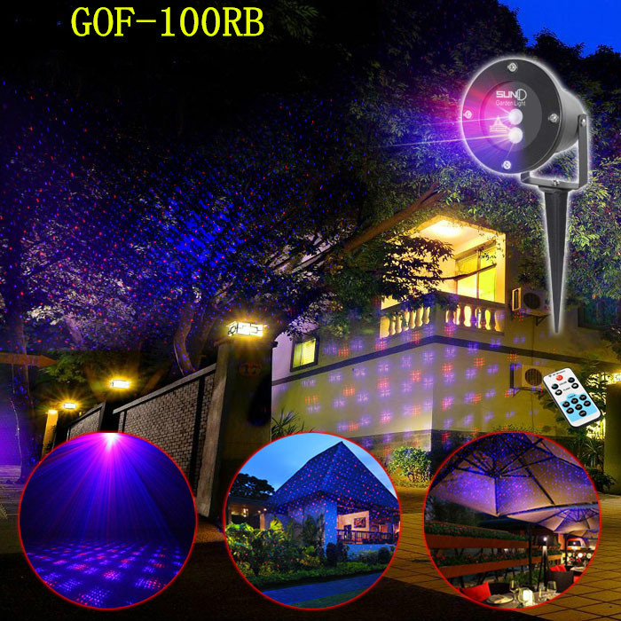 High quality RB lawn lamp dynamic all over sky star ground light outdoor waterproof Christmas tree lamp high quality single color all over the sky star waterproof outdoor laser lawn lamp christmas landscape light quality guarantee