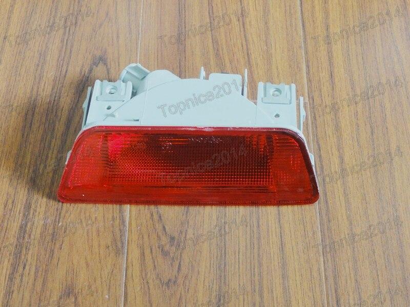 1ks Nové červené světlo do zadního nárazníku pro NISSAN X-TRAIL 2008-2013