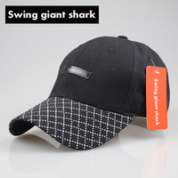 Swing Giant Shark Fashion Unisex Cap High Quality Cotton Snapback Casquette Male Baseball Cap Casual
