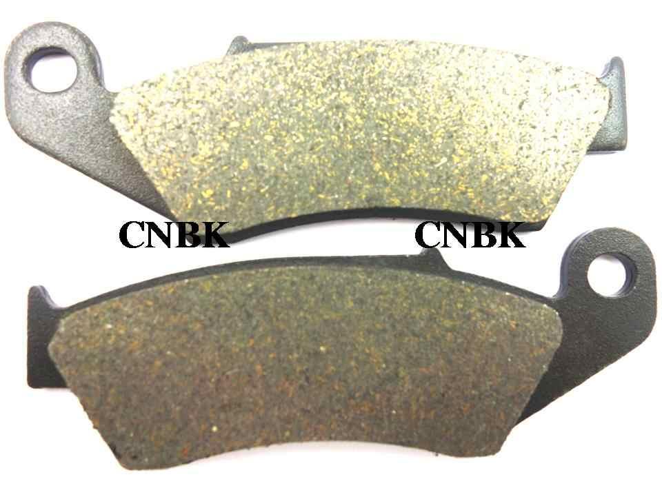 F + R Brake Pad Set Cocok untuk Honda 400 XR R XR400 1997 1998 1999 2000 2001 2002 2003 2004 1996-2005 Depan Belakang