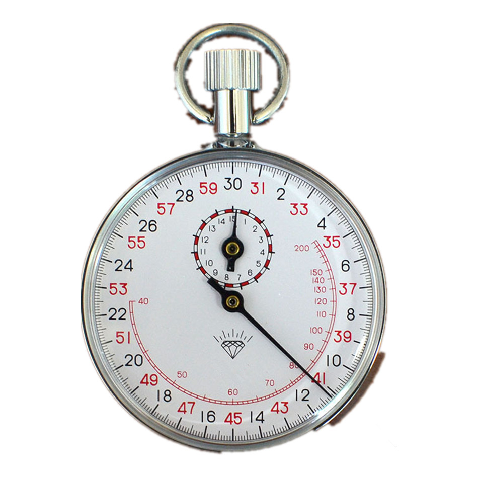 JM 807 Mechanical Stopwatch Metal Stopwatch Timer With Pulse Meter|Timers| |  - title=