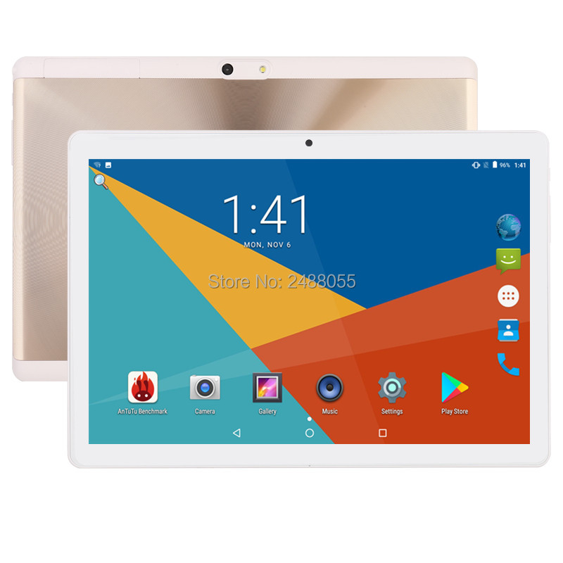 все цены на Free shipping 10 inch Tablet PC Octa Core 4GB RAM 32GB ROM Dual SIM Cards Android 7.0 GPS 3G 4G FDD LTE Tablet PC 10 10.1